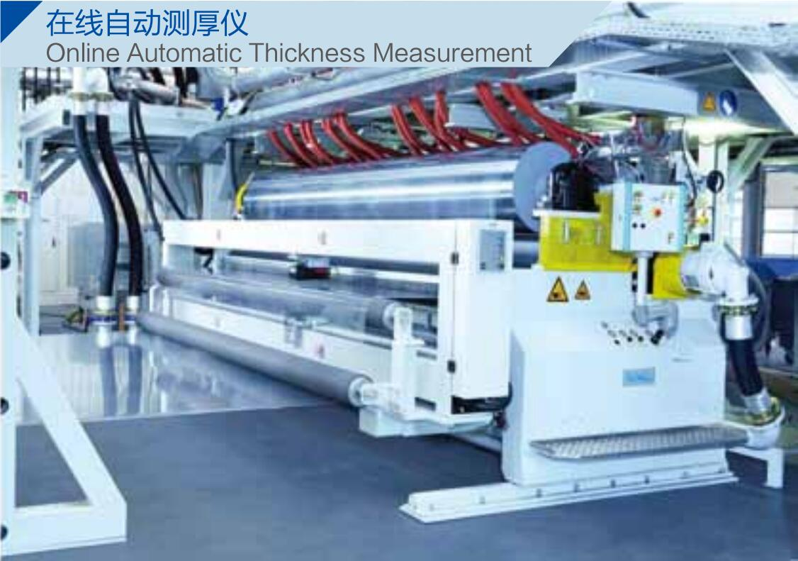 Online automatic thickness gauge